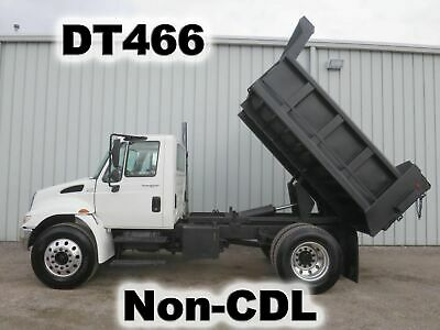 4300 Dt466 Automatic 10Ft Dump Bed Body Haul Delivery Truck  Non-Cdl Low-Miles