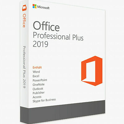 MICROSOFT OFFICE 2019 PROFESSIONAL PLUS 32/64bit Full Download and License Key