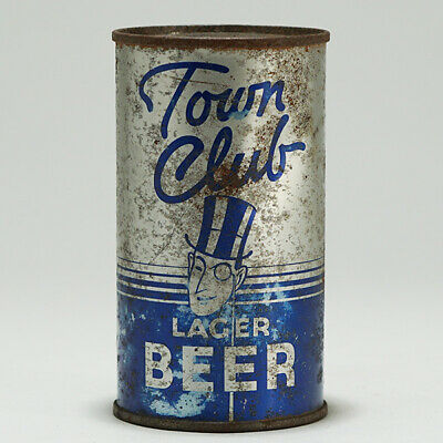 Town Club Lager Beer Flat Top Can Interstate Brewery Vancouver Washington 139-21
