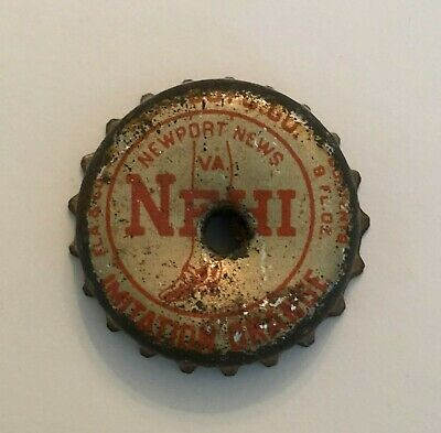 1930s NEHI SOFT DRINK / SODA BOTTLE CAP: IMITATION ORANGE - NEWPORT NEWS, VA