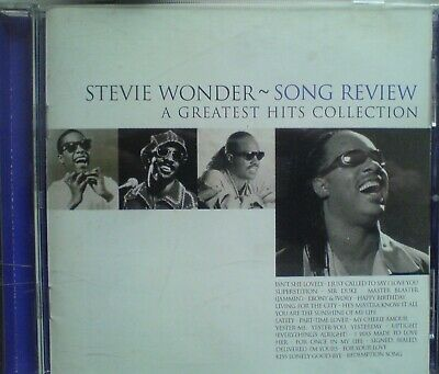 Stevie Wonder-Song Review-The Greatest Hits Collection,1996 ,cd
