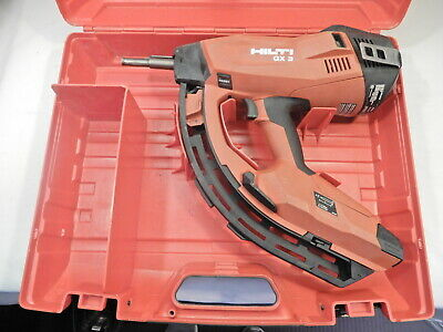 Hilti GX 3 Gas Powered Actuated Fastener Nail Gun w/Case ~!