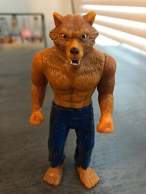 Wolvadon 2003 Taco Bell Werewolf Man Action Figure Universal Monsters Wolfman