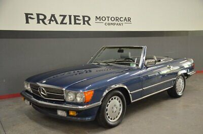 1988 Mercedes-Benz 560SL  NA 560SL with ROW BUMPERS NAUTICAL BLUE /GREY