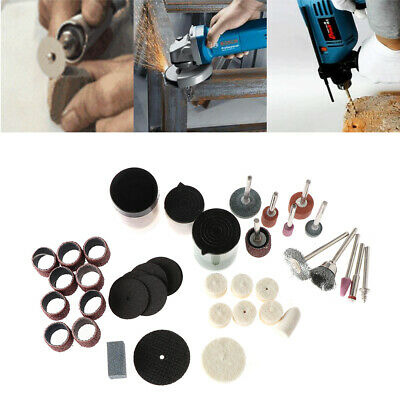 Bit Set Electric Drill Grinder Rotary Power Tool Grinding Polishing Accessory