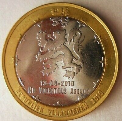 2010 FLANDERS EURO - Excellent Uncommon Date Coin - Lot #M22