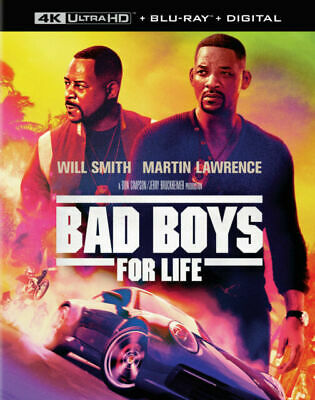 BAD BOYS FOR LIFE ( Blu-ray + DVD + Digital) - LIKE NEW - FREE SHIPPING !.
