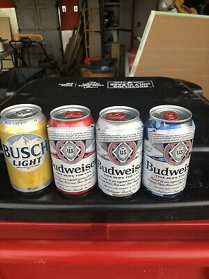 Budweiser Folds Of Honor Beer Cans