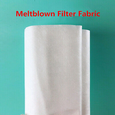 5M Melt-blown Nonwoven Fabric Craft Face Cover Fusible Interlining Filter Layer