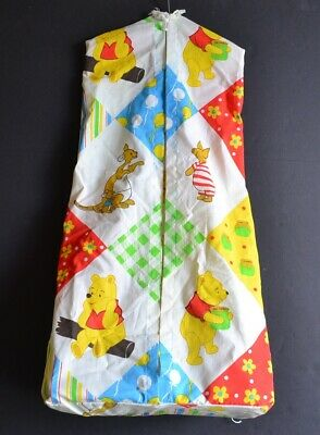 Vintage WINNIE the POOH Characters DIAPER STACKER BAG Hanging Organizer