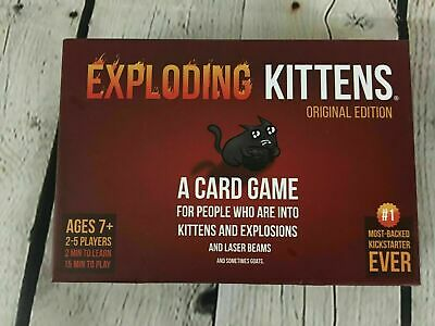Exploding Kittens Card Game - Party Pack for Up to 5 Players - Family-Friendly