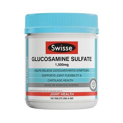 Swisse Ultiboost Glucosamine Sulfate 180 Tablets NEW Cheapest
