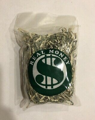 100% Real Shredded US Cash Money Currency Free Shipping