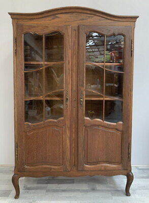 Vintage French Louis XIV Bookcase/ Cabinet / Cupboard /Sideboard