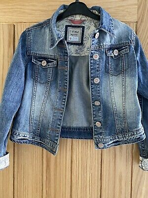 Girls Denim Jacket, NEXT, Age  9-10 Years