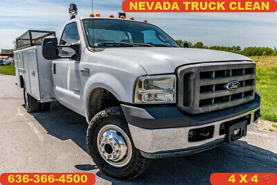 2006 Ford F350 Super Duty Used 4wd utility diesel 1 owner low miles clean nice