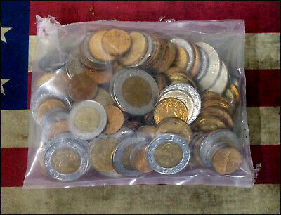 Lot of Uncirculated Mexican Coins - Approx One Pound - Mexico