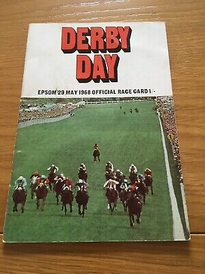 1968 Epsom Derby, Winner  Sir Ivor Wins For Lester Piggott