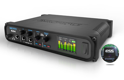 MOTU 624   16 x 16 Thunderbolt™ / USB3 audio interface