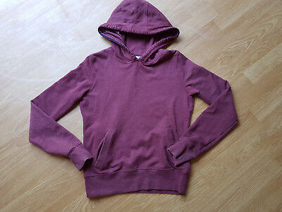 M&S Angel Range Size XS 11-12ish Dark Rose Hoodie Soft