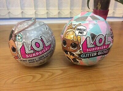 Lol Surprise Glitter Globe And Bling Series Brand New Sealed X 2.