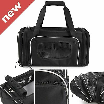 Premium 4-Way Expandable Airline Approved Pet Carrier For Cats & Small Dogs