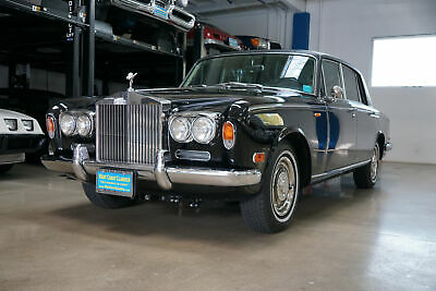 1971 Rolls-Royce Silver Shadow LWB with Divider Long Wheel Base with Divider 24,600 Miles 6.75L V8 AutomaticLong Wheelbase