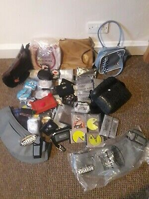 Joblot of bags, wallets, purses etx