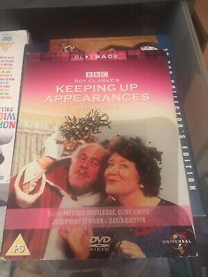 Keeping Up Appearances DVD Series 3&4 Great Condition