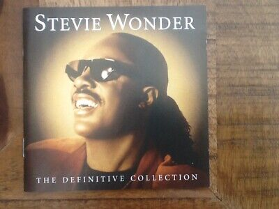 Stevie Wonder - The Definitive Collection 2 Cd Pop