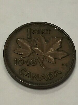 1943 Canadian Penny