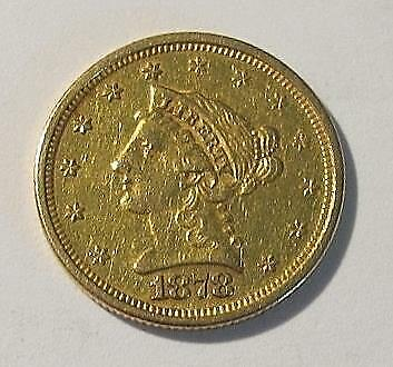 1878 U.S. $2.50 Gold Coin * Liberty Head * Circulated * Better Grade * Nice