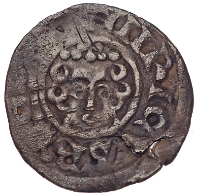ENGLAND. Henry III. 1216-1272. Silver Penny, Moneyer Roger on Canterbury