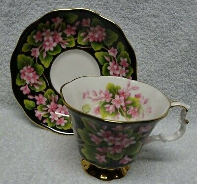 Royal Albert Provincial Flowers  Series Mayflower  Cup and Saucer