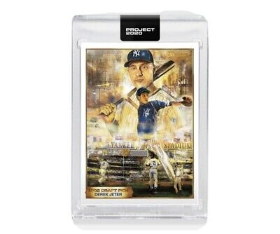 Topps PROJECT 2020 Card 82 - 1993 Derek Jeter by Andrew Thiele Preorder!!!