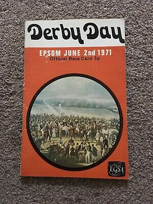 1971  Epsom Derby, Winner  Mill Reef Wins For Geoff Lewis.