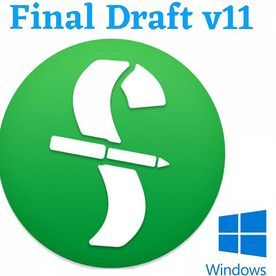 Final Draft v11 Screenwriting Software🔥 Lifetime License 🔥 INSTANT DELIVERY🔥