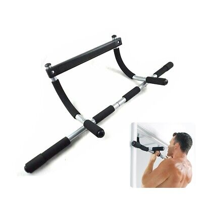 Workout Bar Chin Pull up Body Door Frame Trainer Home Gym Upper Body USA Stock