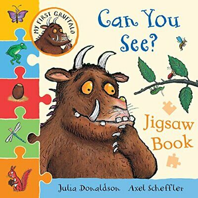 My First Gruffalo: Lattina You See? Puzzle Libro (My Gruffalo Jigsaw) Di Donald