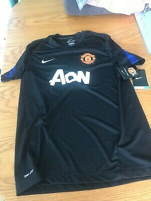 "Bnwt Nike Man Utd  Manchester United Youths Size 17"" Chest  Football Shirt"