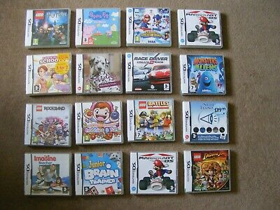 Nintendo Ds Games - Empty Boxes X 16 Some With Instructions - Bundle / Job Lot