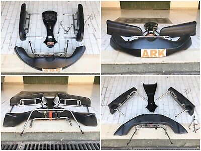 Kit Carene Carenature Go Kart KG Birel 100cc 125cc Plastiche Con Attacchi Staffe