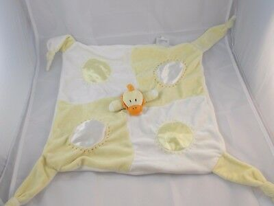 Boswell Duck Yellow Lovey Security Blanket Stuffed Animal toy