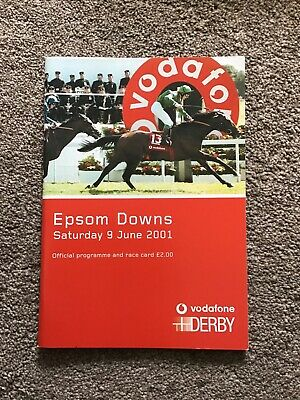 2001. Epsom Derby Winner  Galileo.   Mint Condition