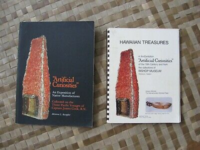 "ARTIFICIAL CURIOSITIES "" & ""HAWAIIAN TREASURES"" Capt Cook's 3 Voyages Collection"