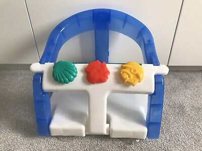Dreambaby Fold Away Baby Bath Seat Support- White/Blue - Great condition!!!