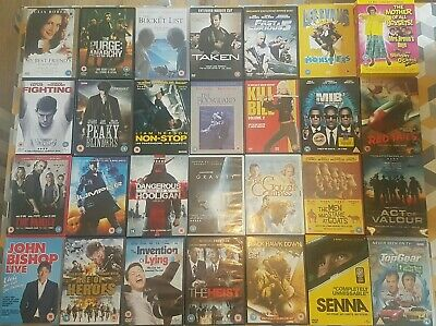 BULK WHOLESALE JOBLOT BUNDLE X55 DVDs