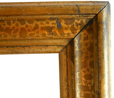 AAFA 1800s Folk Art Gild Gilt Folk Art Frame