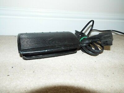 Vintage Singer Sewing Machine power cord and foot pedal (103435-009) 3PIN