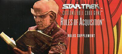 Star Trek CCG - Rules of Acquisition Checklist / Rules